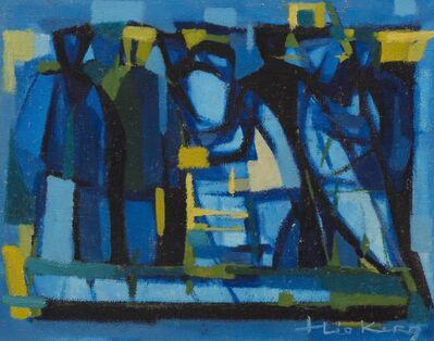 Théo Kerg, 'Le départ', ca. 1950
