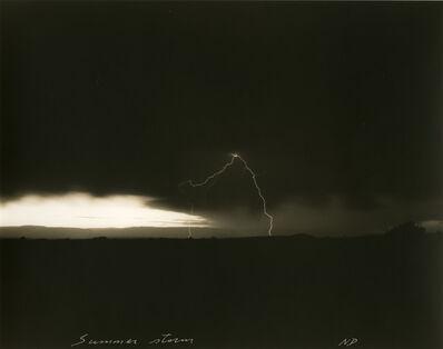 Mark Klett, 'Summer storm'