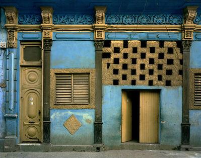 Michael Eastman, 'Blue Facade, Havana Cuba. 2000', 2000
