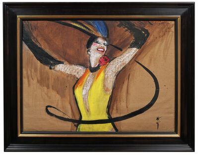 René Gruau, 'Lido's Dancer', 20th Century