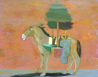 Paton Miller, 'Mule & Trees', 2018