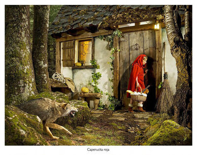 Fernando Bayona, 'Little Red Riding Hood', 2010