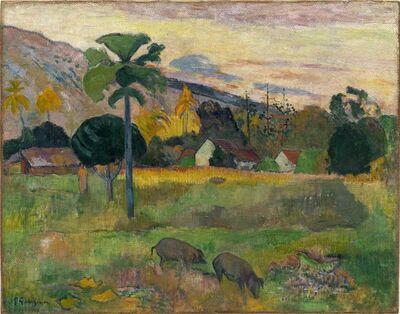 Paul Gauguin, 'Haere Mai', 1891