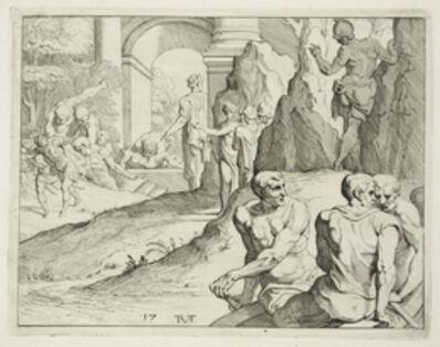 Theodoor van Thulden, '[Scene from the Galerie d'Ulysse in Fontainebleau]', 1640