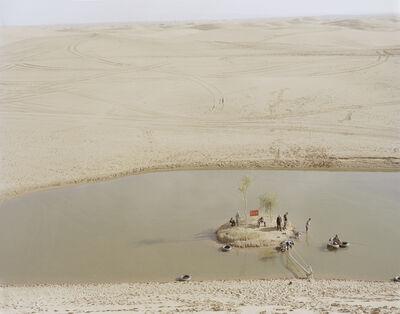 Zhang Kechun, 'Lake in the Desert', 2014