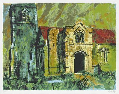 John Piper, 'Holme, Nottinghamshire', 1985