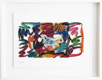David Gerstein, 'White Hope - Paper Cut', 2007