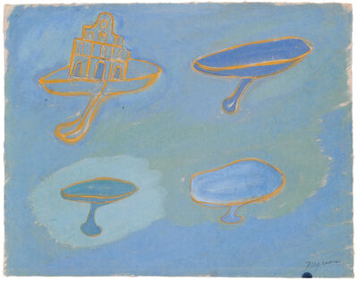 Morris Graves, 'Church and Chalices', 1939