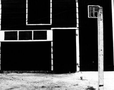 William Klein, 'Black barn + White Lines', 1949
