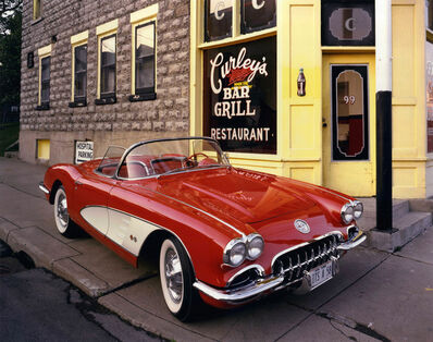 Bruce Wrighton, '1958 Corvette, Curley's Bar and Grill, Johnson City, NY', ca. 1987