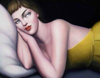 Rachel Deacon, 'Girl in a Yellow Dress', 2021