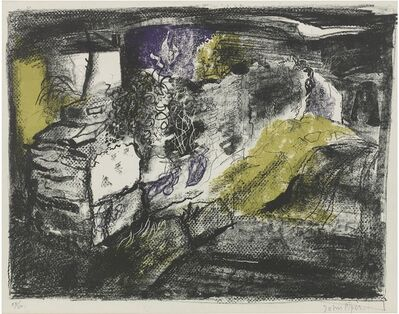 John Piper, 'Stone Wall, Anglesey', ca. 1949
