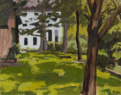 Peter Ligon, 'Lawn and White House', 2019