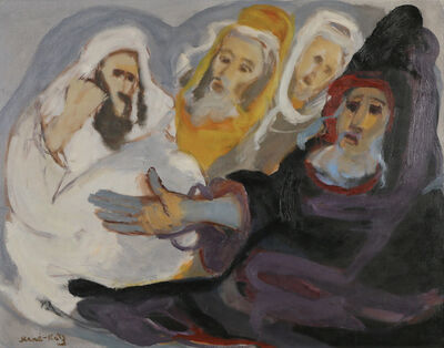 Mané-Katz, 'Hassidim', 1894-1962