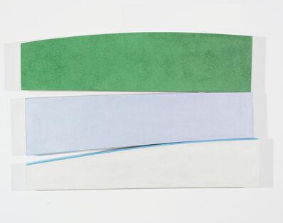 Kenneth Noland, 'Flares: Sunday', 1991-1995