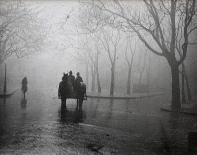 André Kertész, 'Hazy Day, Budapest', 1920
