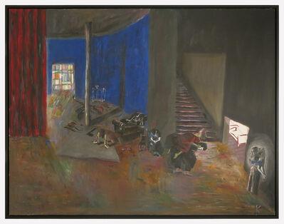 Guillermo Kuitca, 'Blaubart', 1985