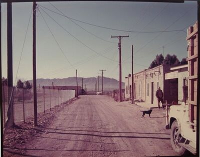 Stephen Shore, 'Back Road, Presidio, TX', 1975