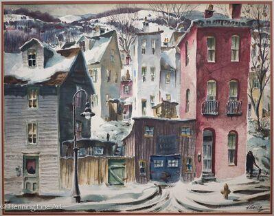 Henry Gasser, 'Hill Street, Winter Harbor'