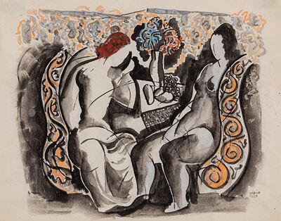 Bela Kadar, 'Two Figures'