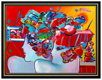 Peter Max, 'BLUSHING BEAUTIES', 1991