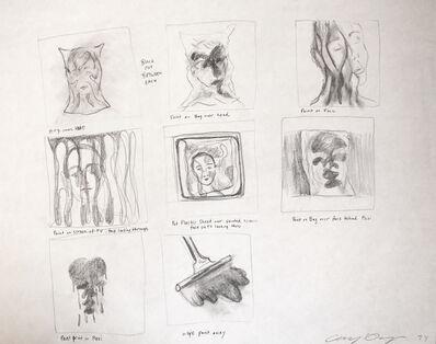 Cheryl Donegan, 'PRACTISSE storyboard', 1994