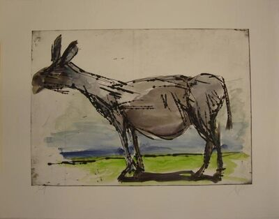 Markus Lüpertz, 'Untitled (donkey)', 2016