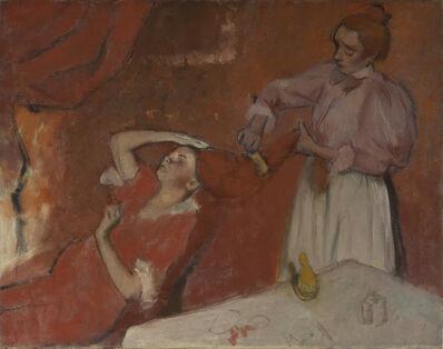 Edgar Degas, 'Combing the Hair ('La Coiffure')', about 1896