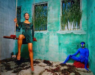 Lyle Ashton Harris, 'with Thomas Allen Harris | Untitled (Blue) ', 1998