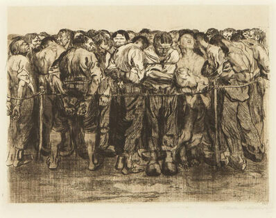 Käthe Kollwitz, 'The Prisoners ', 1927
