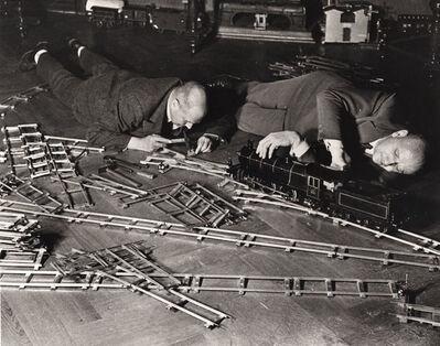 Alfred Eisenstaedt, 'Toy Train Society, Berlin', 1931/1980
