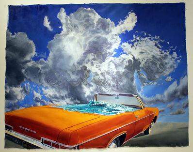 John Valadez, 'Drive-In', 2014