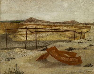 Prunella Clough, 'Deserted Gravel Pit', ca. 1946
