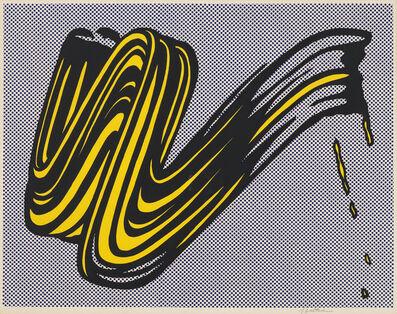 Roy Lichtenstein, 'Brushstroke', 1965