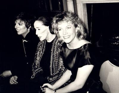 Andy Warhol, 'Andy Warhol, Photograph of Liza Minnelli, Martha Graham and Kathleen Turner', ca. 1985