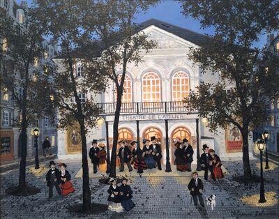 Fabienne Delacroix, 'Première au Théâtre de l'Atelier'