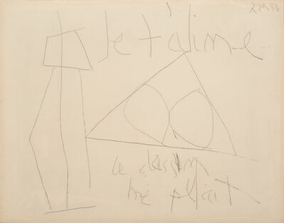Robert Motherwell, 'Je t''aime ', 1956