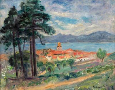 Charles Camoin, 'Le clocher de Saint-Tropez, vu de la Citadelle', 1941