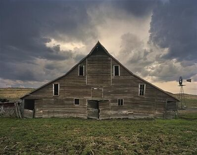 Andrew Moore, 'Cash Maier Barn, Shadbolt Ranch, Cherry County, Wyoming', 2011