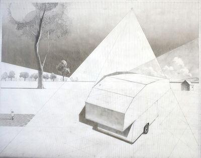 Ken Ragsdale, 'Sketch for the Hundred Acre Wood'