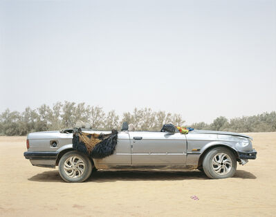 Philippe Dudouit, 'Ubari, Southern Libya, 2015. Tuareg tribal militia group vehicle.', 2015