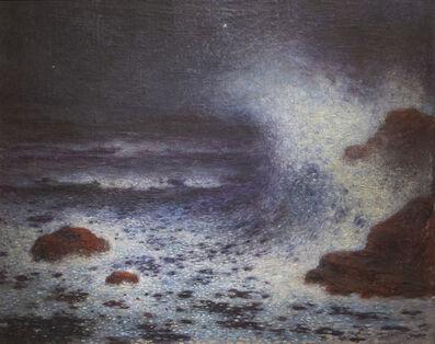 Ferdinand du Puigaudeau, 'Vagues dans la Nuit', Undated