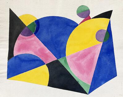 Böhm Lipót Poldi, 'Abstract composition', 1988
