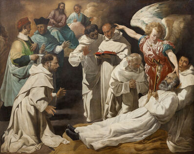 Juan Luis Zambrano, 'Muerte de San Pedro Nolasco (The Death of Saint Peter Nolasco)', ca. 1634