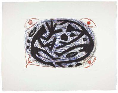 A.R. Penck, 'Kraftfeld Kampf', 1996