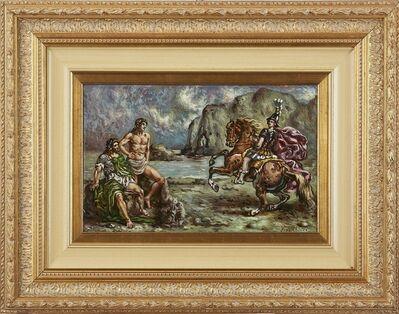 Giorgio de Chirico, 'Achille in riva al fiume Peneo', 1945
