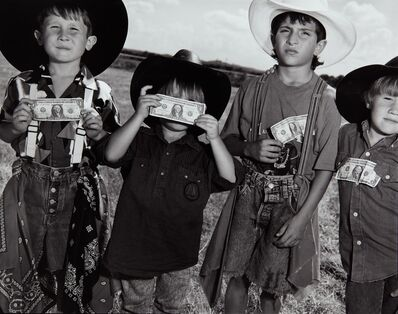 Mary Ellen Mark, 'Young Bull Riders', 1991