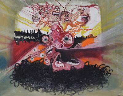 Issa Ibrahim, 'Mad City', 2017