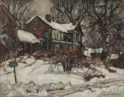 William Lester Stevens, 'House in Snow'