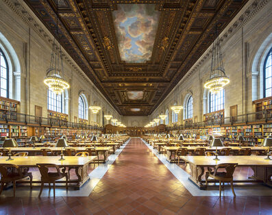 Reinhard Gorner, 'Rose main reading room, New York Public Library', 2014